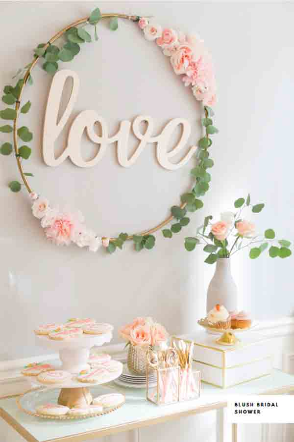 letras decorativas love de madera