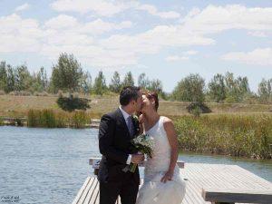 novios boda civil sencilla