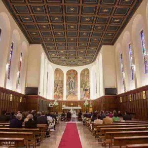 iglesia del colegio compañia de maria zaragoza