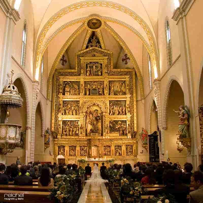 iglesia san miguel de los navarros zaragoza