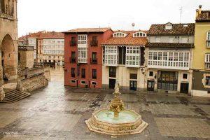 plaza catedral de burgos