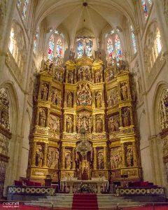 retablo mayor de la catedral de burgos