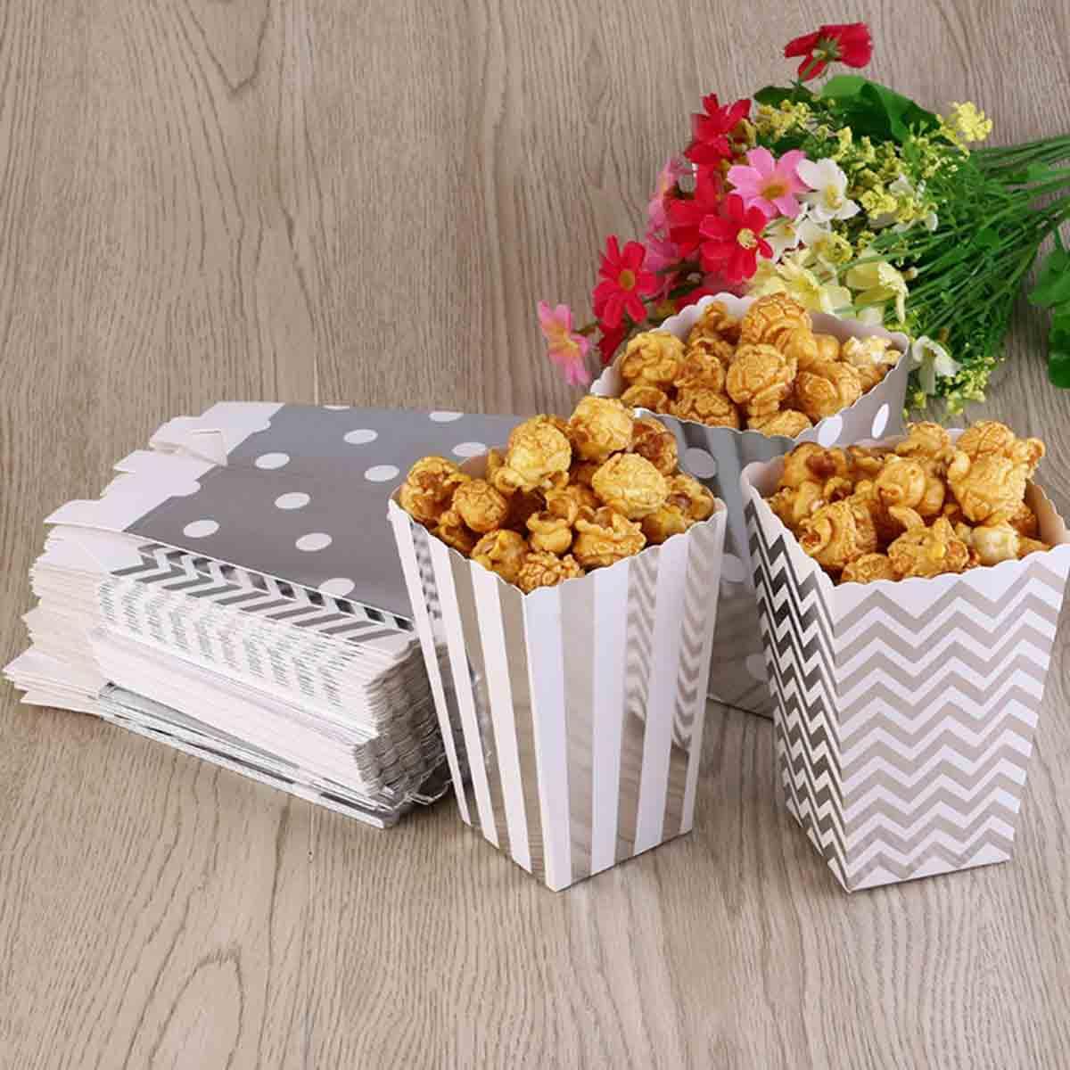 cajas de palomitas de maiz