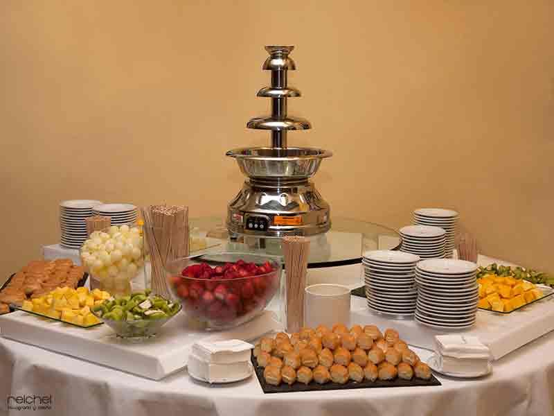 fuentes de chocolate para bodas