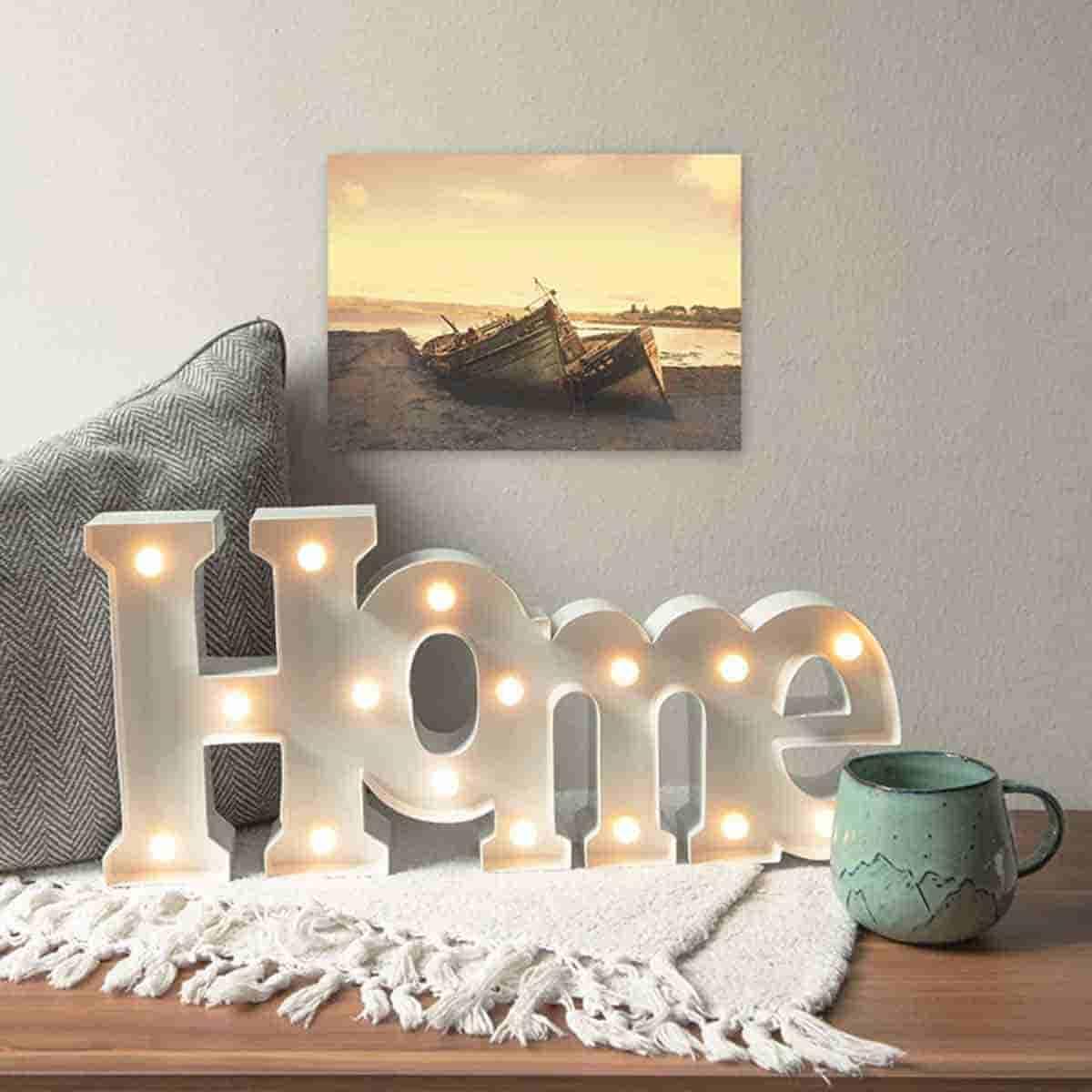 letras decorativas para casa