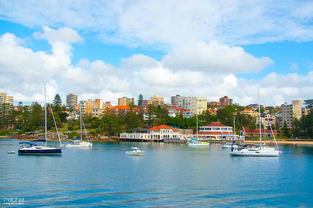 Disfrutando de la ciudad de Manly Beach