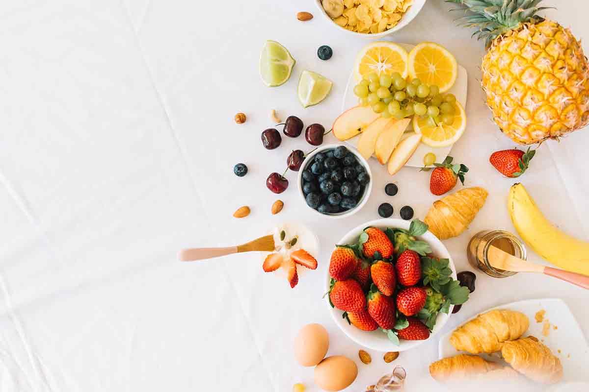 desayunos saludables imagenes de frutas variadas