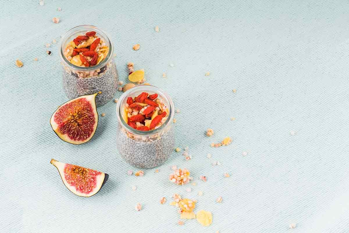 tostada de higos imagenes de desayunos saludable