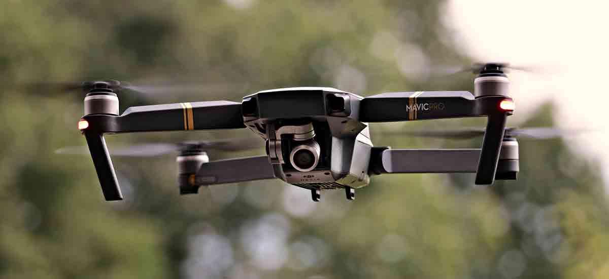 fotografia de drones