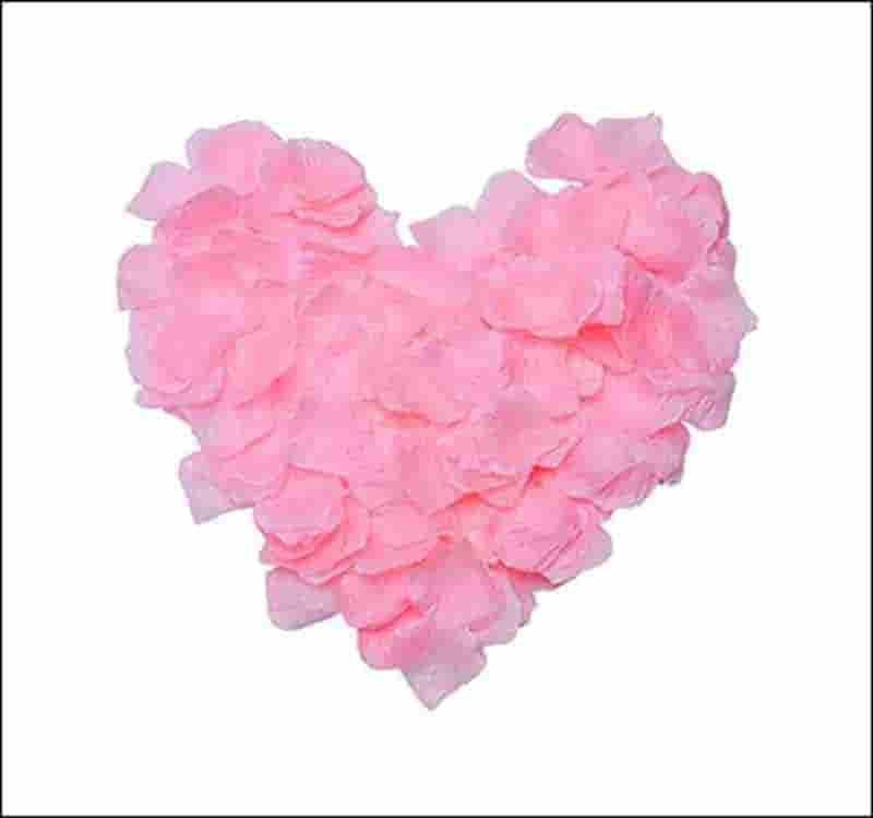 petalos rosas para bodas