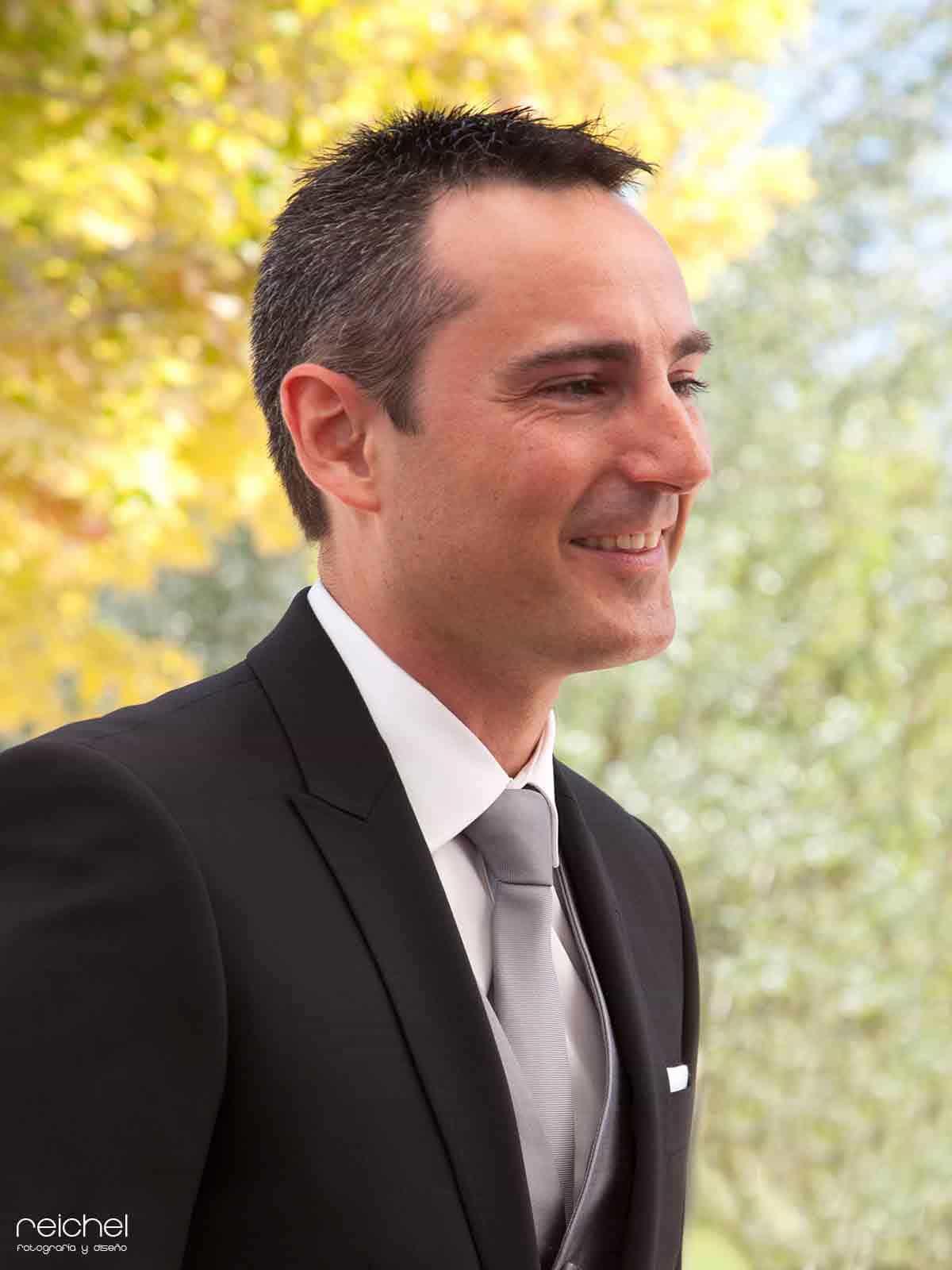 boda civil zaragoza novio esperando a la novia