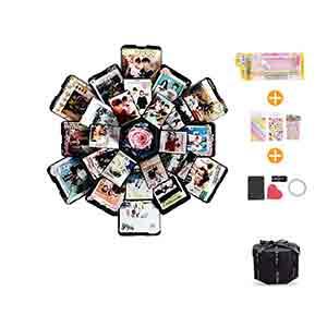 caja creativa con foto