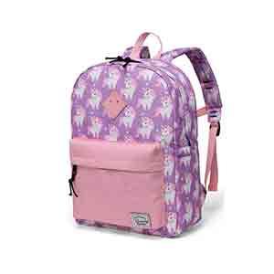 mochila escolar rosa unicornio