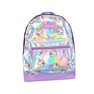 mochila para el col -brillate de unicornios