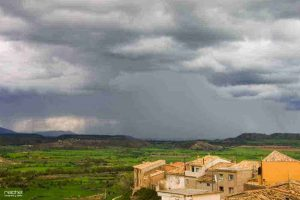 paisajes con tormentas