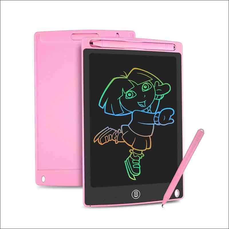 tableta de escritura rosa