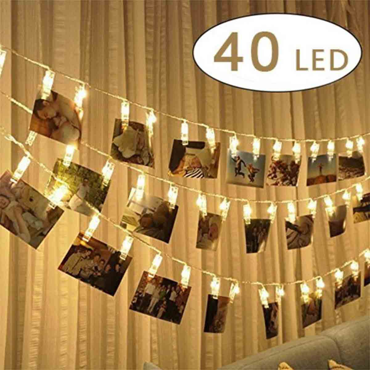 fotoclip cadenas de luces para fotos