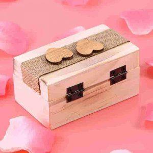 caja alianza de boda