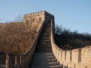 escaleras de la gran murralla china
