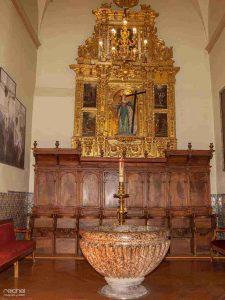 capilla de la iglesia de san gil zaragoza