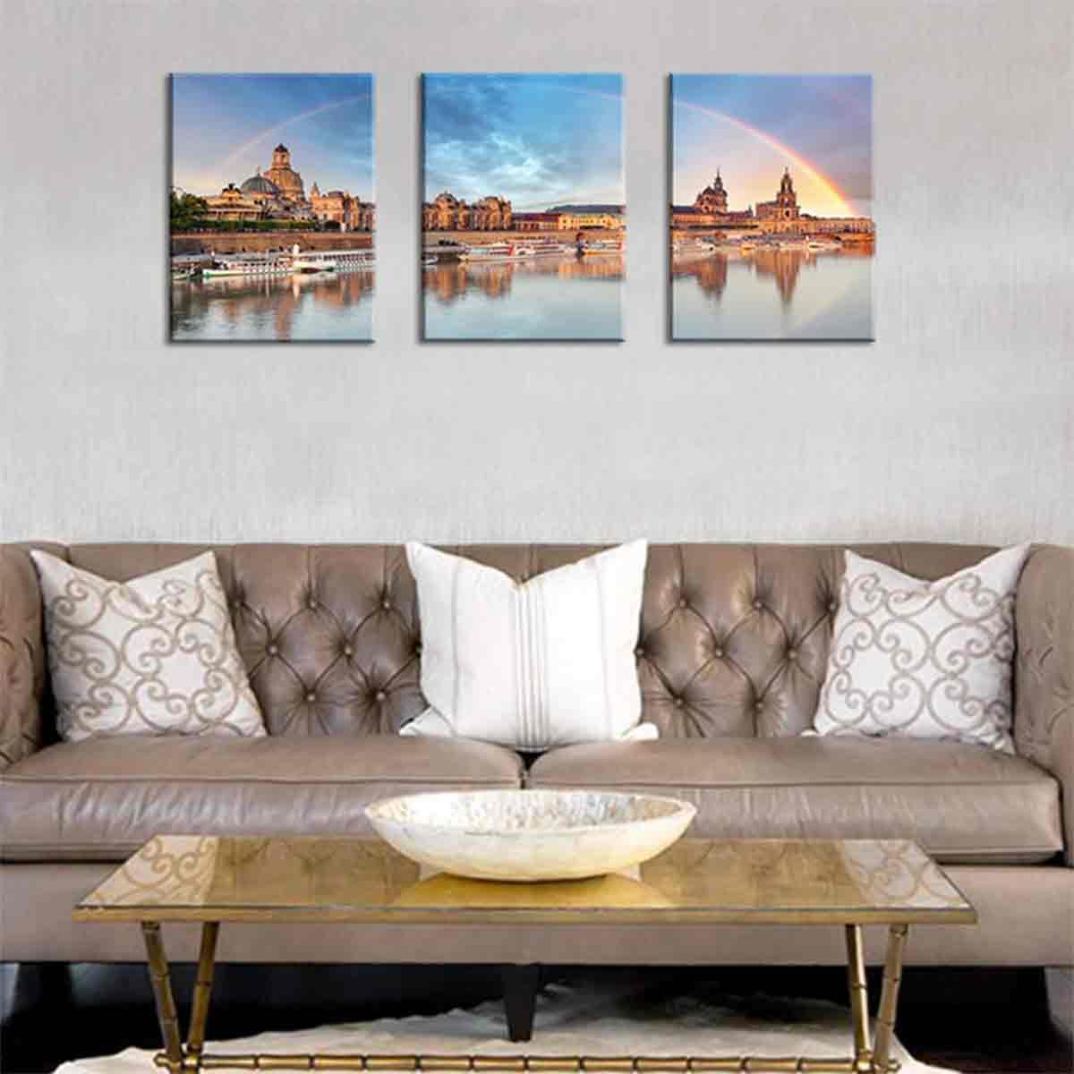 foto pintura de lienzo