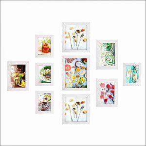 marcos de fotos multiples blancos