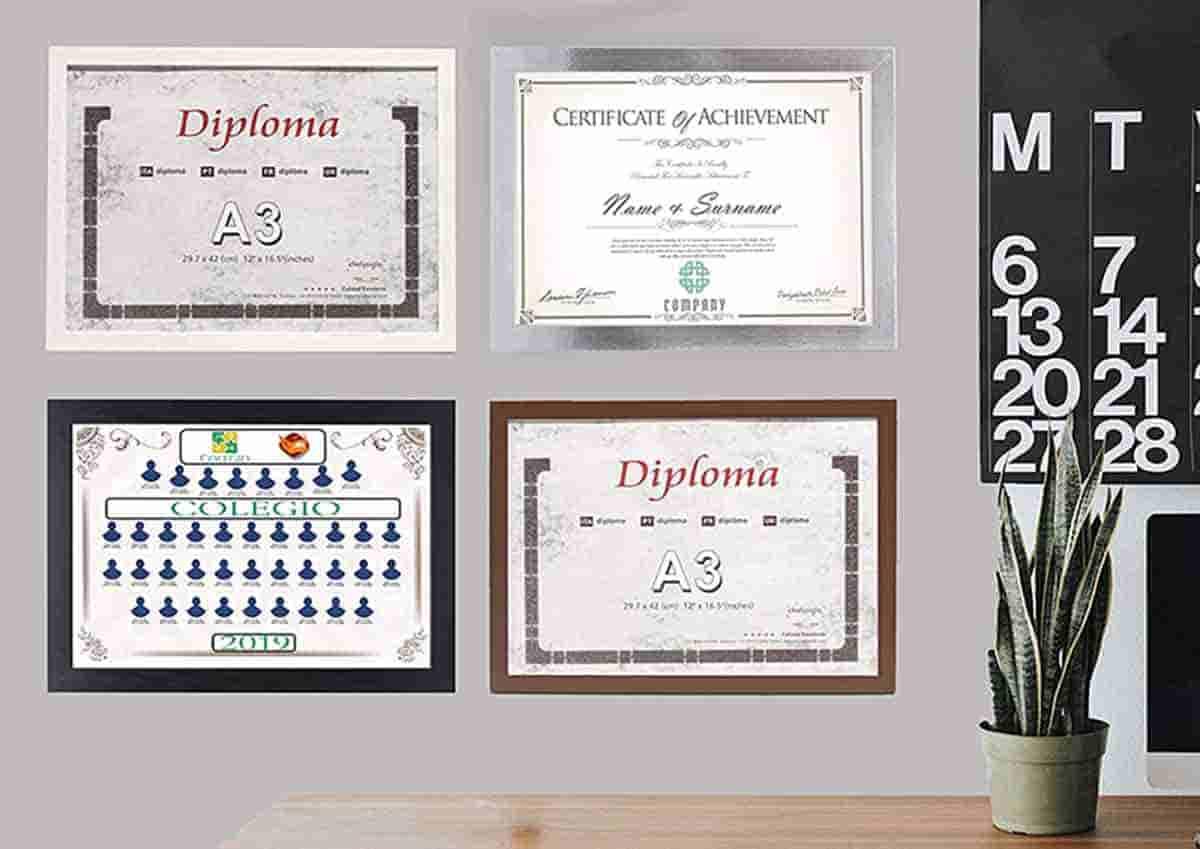 cuadro varios para diploma