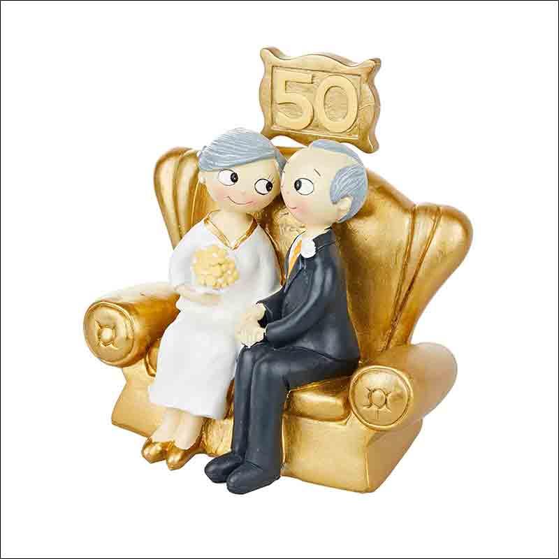 figuras para tarta en bodas de oro