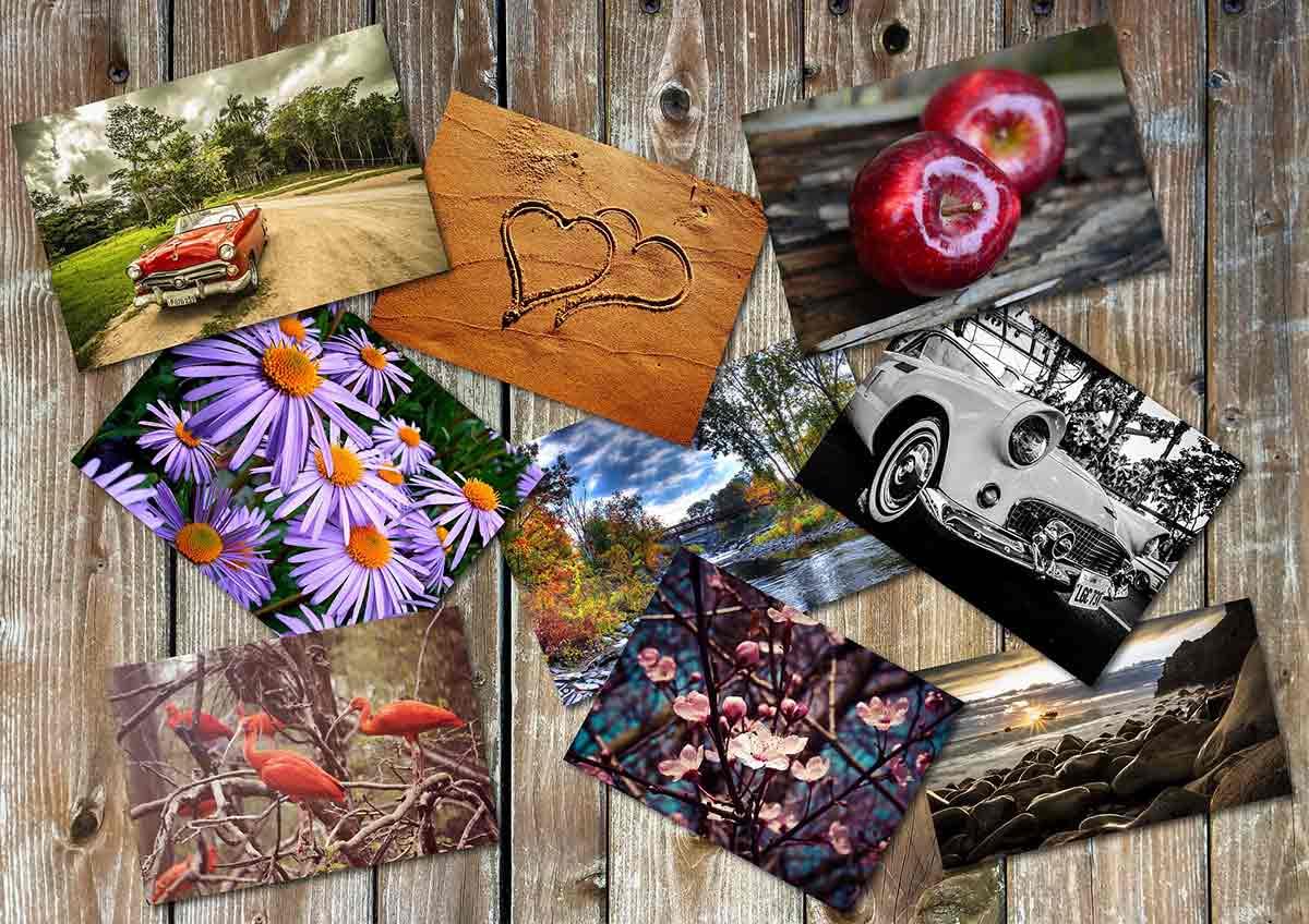 Ideas para decorar con marcos con muchas fotos