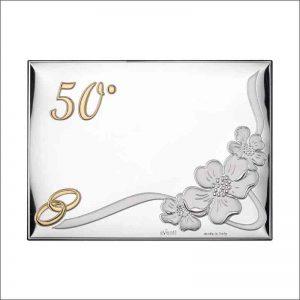 placa personalizada bodas de oro