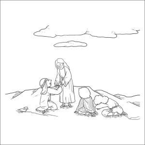 dibujos para colorear religiosos-infantiles