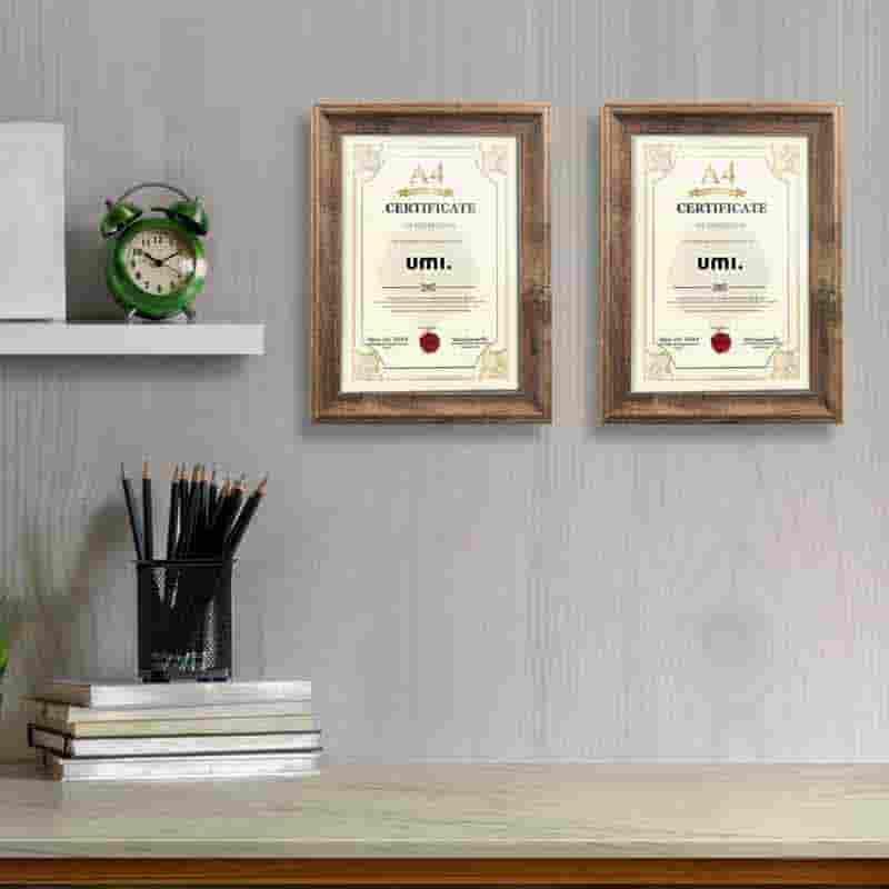 marcos de madera para titulos