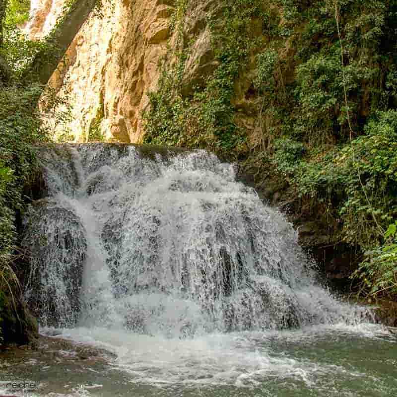 cascada diana monasterio de piedra