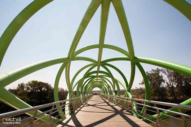 pasarela del bicentenario zaragoza
