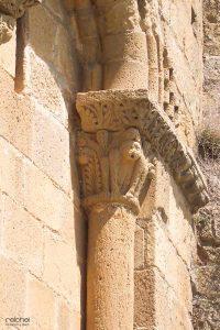 capiteles del castillo de loarre