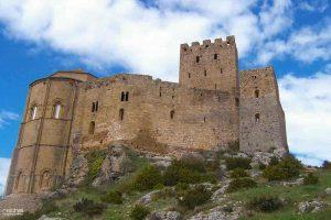 exterior del castillo de loarre